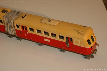 Train JEP autorail